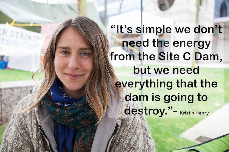 1 Kirsten Henry, quote, March 2016, Site C Dam
