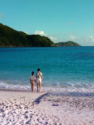 渡嘉敷島の海岸